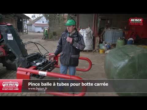 Pince balle à tubes pour botte carrée