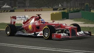 F1 2013 - Gameplay - Suzuka (Japon) | Sebastian Vettel - [PS3]