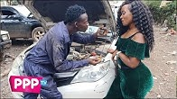 This Lady Drives Mca Tricky Crazy #TecnoTakeMeHome
