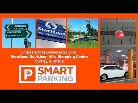 Smart Parking (ASX:SPZ) in Baulkham Hills Shopping Centre