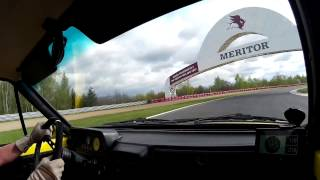 Žlutka 2017 autodrom Most 3. jízda
