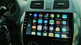 2DIN Android 8.1 Car Stereo 2019 for Suzuki SX4! Installation + Review !
