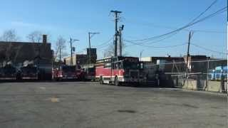 Chicago Fire Dept. Reserve Truck Lot Squad 3 From NBC's \