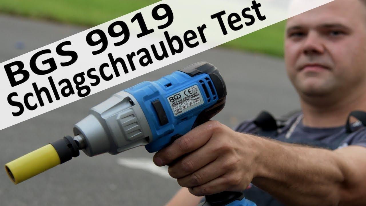 review bgs akku schlagschrauber 9919 - youtube