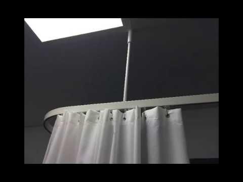 Rieles y sistemas de sujecci n para cortinas hospitalarias for Rieles para cortinas