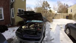 Cold Start - 86 Trans AM with LQ4 swap - Sitting 2 months