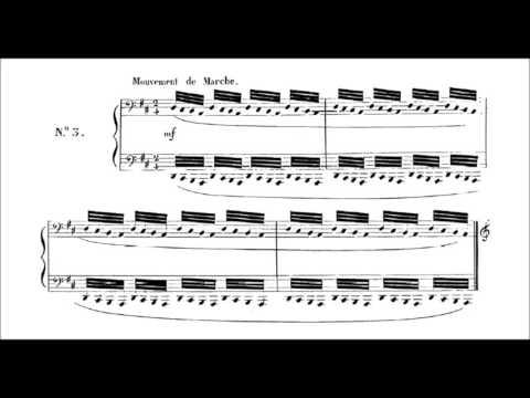 Charles Valentin Alkan Les Mois Op 74 Audio Sheet