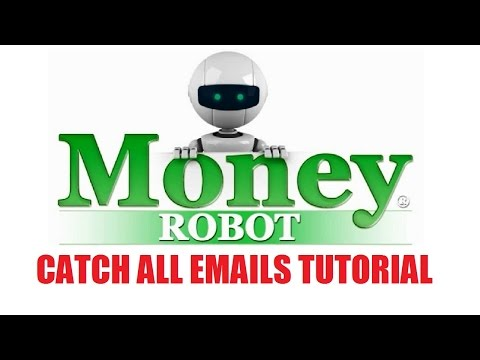 Money Robot Submitter - Catch All Emails Tutorial