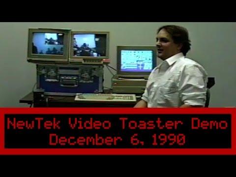 NewTek Video Toaster Demo 1990 - Commodore Amiga