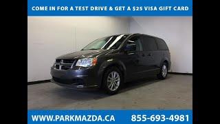 GREY 2015 Dodge Grand Caravan  Review Sherwood Park Alberta - Park Mazda