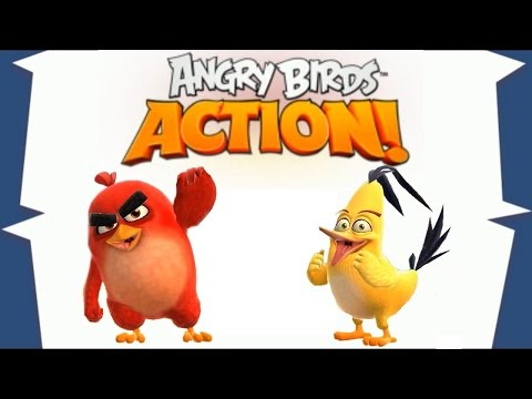 Angry Birds Action App Gameplay