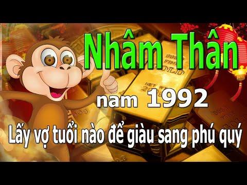 1992 Nhâm Thân _ Lấy Vợ Tuổi Nào để Giàu Sang Phú Quý