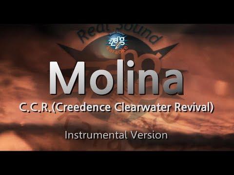C.C.R.(Creedence Clearwater Revival)-Molina (MR) (Karaoke Version) [ZZang KARAOKE]