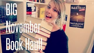 BIG November Book Haul AND FREE BOOKS?! Thumbnail