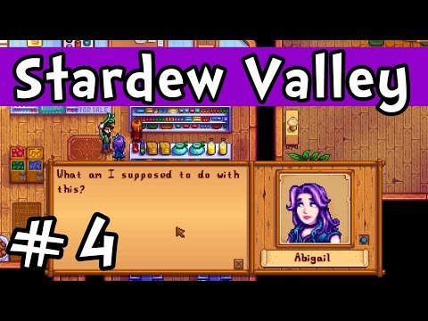 """Stardew Valley E04 """"Giving Gifts & Steam Codes!"""" (Gameplay Playthrough 1080p)"""