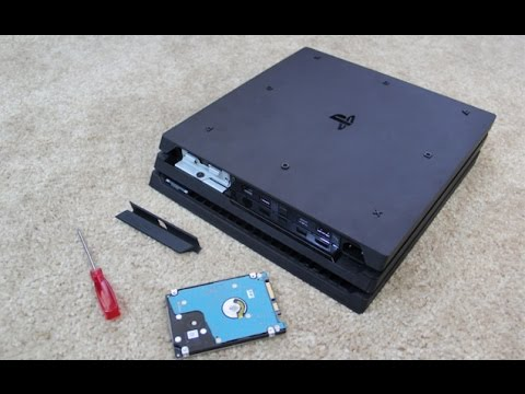 Tutorial How To Change Ps4 Pro Hard Drive And Install System Software Youtube