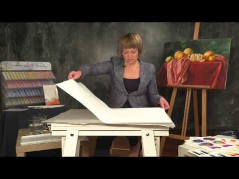 Elena Bazanova's watercolour masterclass. Lesson 2
