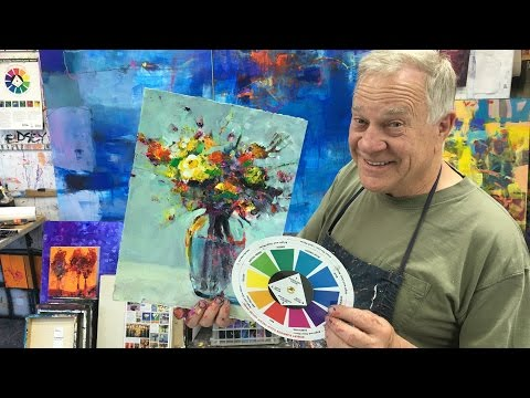 "BobBlast 98 ""My Goof Proof Color Wheel for Abstracts & Realism."""