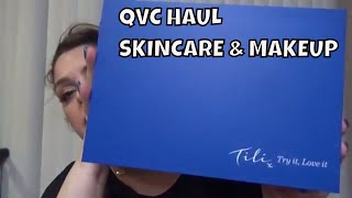 QVC HAUL SKINCARE AND MAKEUP & OPEN GIVEAWAY