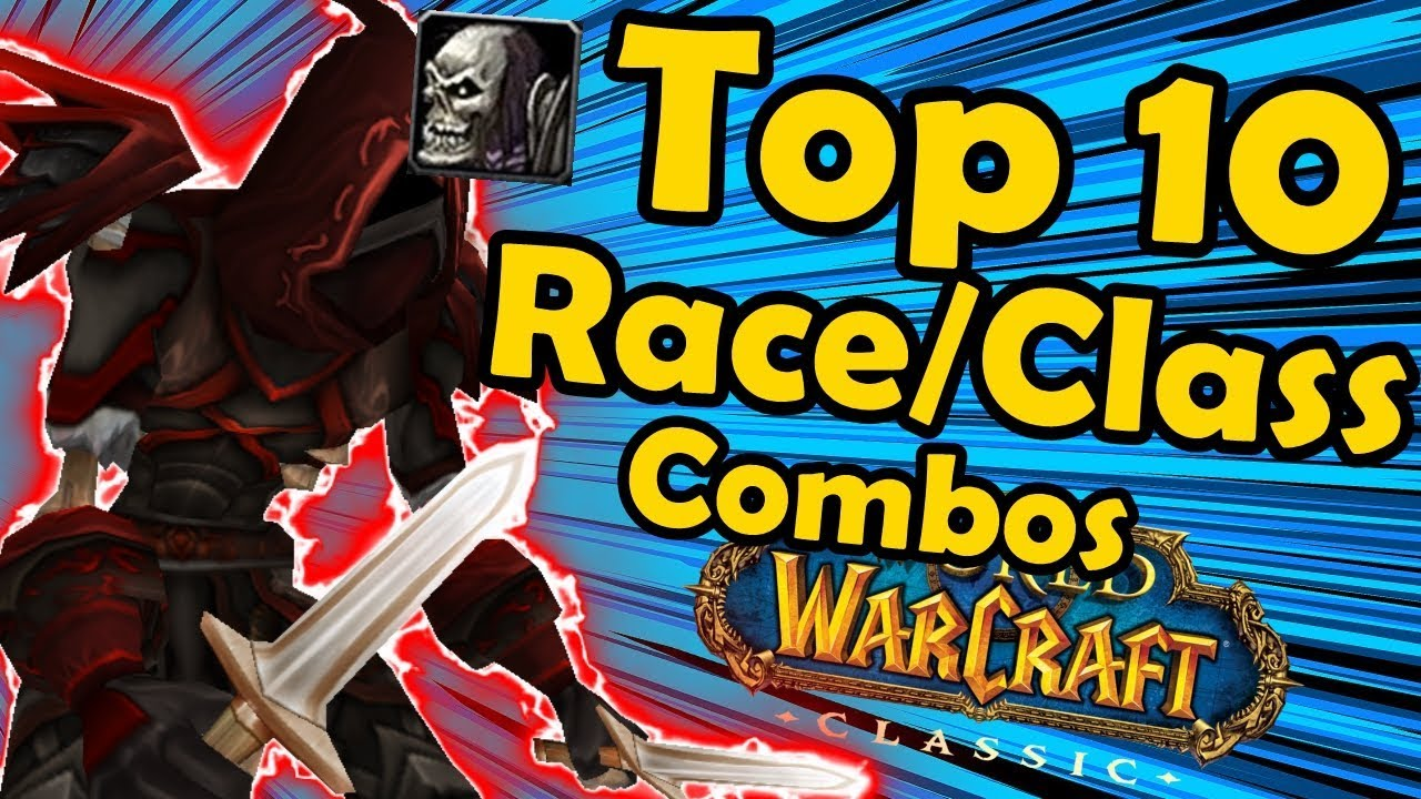 Top 10 Best Race/Class combos in Classic WoW (World of Warcraft) thumbnail