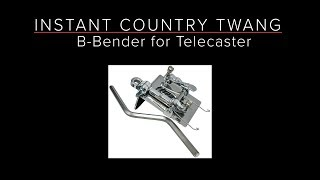 B-BENDER for TELECASTER - Instant Country Twang - Guitar & Recording Discoveries #45