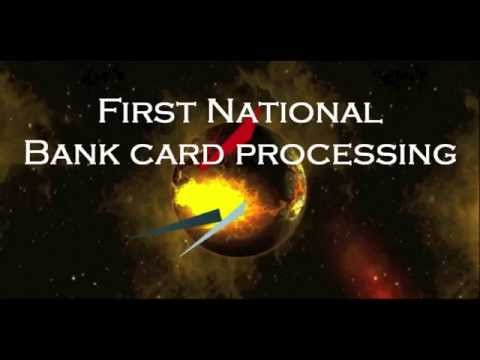 First National Bank Card Processing New