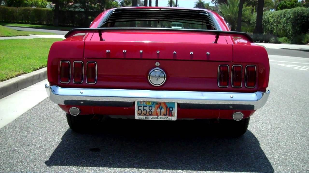 1969 Ford Mustang 390 S Code For Sale by West Coast Classics in ...