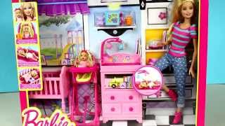 Mattel - Barbie Careers Babysitter Doll And Playset