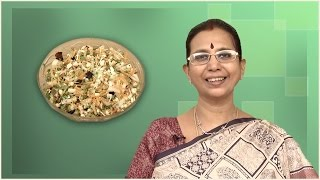 Carrot Cucumber And Bean Sprout Salad  | Mallika Badrinath Recipe