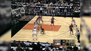 Utah vs. Kentucky 1998 NCAA Championship