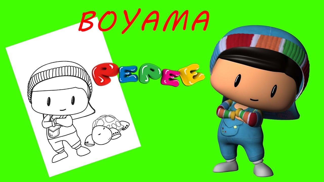 Pepee Boyama Sayfası Youtube