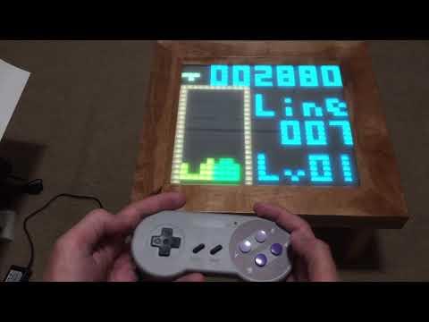 Arduino LED Classic Tetris Table