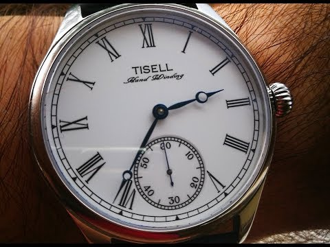 Unboxing of TISELL #157 Roman dial, Hangzhou Manual Movement 9312!!!