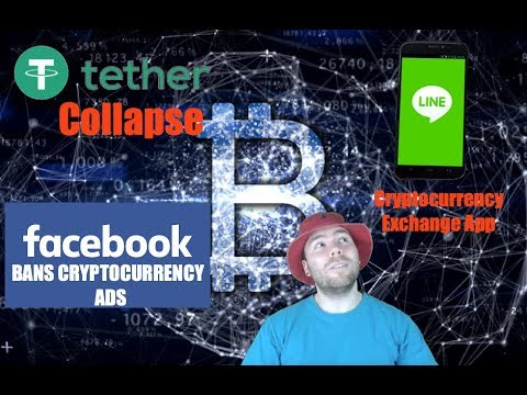 Facebook BANS Cryptocurrency Ads | USDT Collapse | Social App Adding Exchange