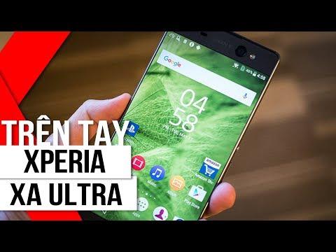 FPT Shop - Trên Tay Sony Xperia XA Ultra - Phablet Không Viền Màn Hình 6 Inch