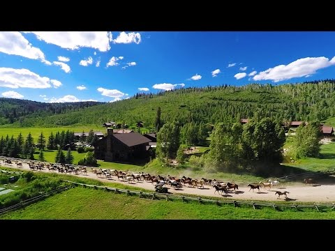 A luxury dude ranch vacation