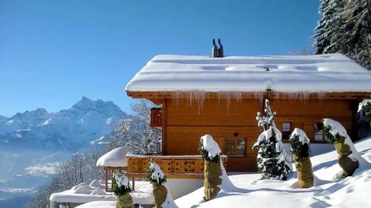 Amazing Swiss Chalets For Sale #9: Luxury Chalet For Sale Villars Switzerland - YouTube