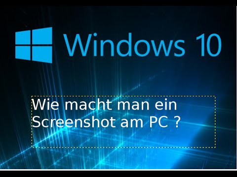 Wie Macht Man Screenshot Windows
