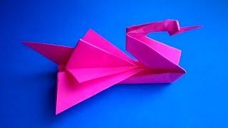 оригами лебедь,как сделать лебедя из бумаги,бумажный лебедь // how to make origami swan(оригами из бумаги лебедь,как сделать лебедя из бумаги,бумажный лебедь,Сделай сам своими руками! // how to make..., 2015-04-24T11:48:29.000Z)