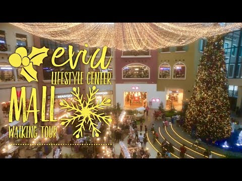 Evia Lifestyle Center Mall Walking Tour by HourPhilippines.com