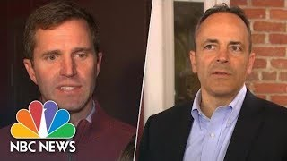Candidates In Kentucky Gubernatorial Race Talk Trump's Role In Campaign | NBC News
