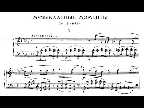 Rachmaninoff: Moments Musicaux, Op.16 (Litvintseva, Giltburg)