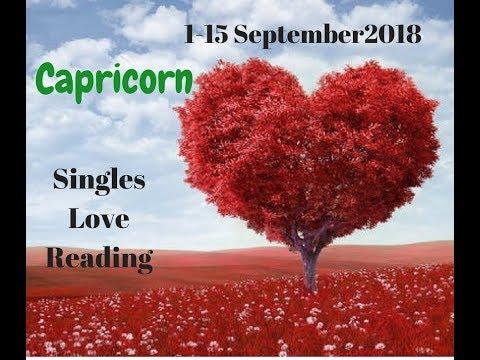 Capricorn ❤️ Reading 1 - 15 September 2018 - Singles