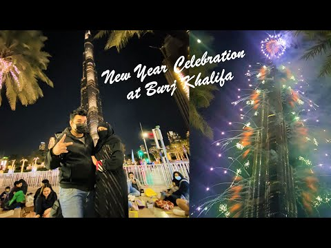 New Year Fireworks | New Year Celebration in Dubai | New Year Live Burj Khalifa |Dubai New Year 2021