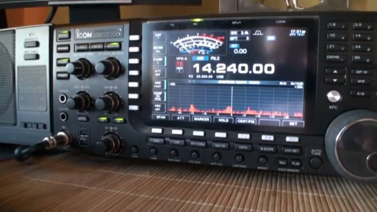 Icom My Radio Shack In 720p Hd
