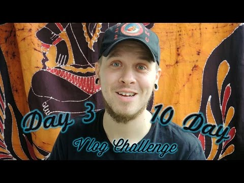 10 Day Vlog Challenge - Day 3 - #qcknd Vlog Tattoo Collector Tag