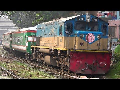 Sonar Bangla Express with Indonesian PT INKA made rakes & South Korian made EMD Locomotive