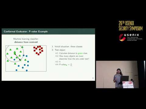 USENIX Security '17 - Transcend: Detecting Concept Drift in Malware Classification Models
