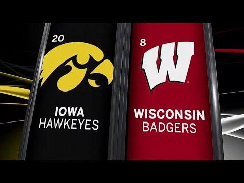 Iowa at Wisconsin - Football Highlights