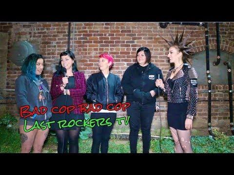 BAD COP BAD COP talks BEING FEMALE IN PUNK ROCK w/Erin Micklow for Last Rockers TV